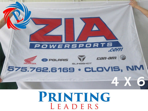 Custom 4' x 6' Flag - Cheap Custom Printing - 6