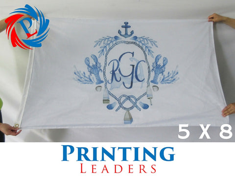 Custom 5' x 8' Flag - Cheap Custom Printing - 1