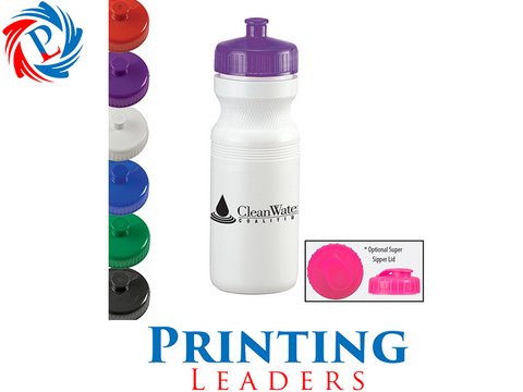 24oz Value Water Bottle - Cheap Custom Printing - 1