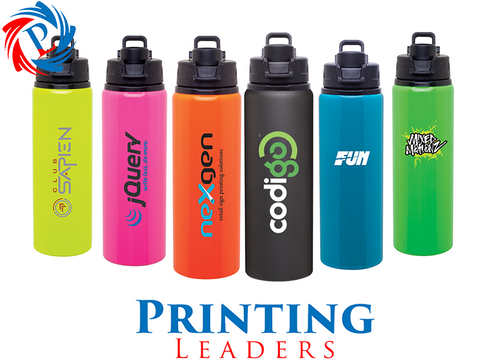 28 Oz. H2go Surge Aluminum Water Bottle - Cheap Custom Printing - 1