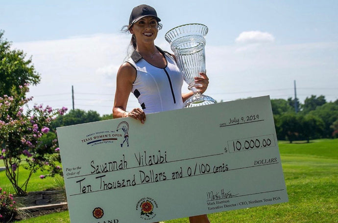 A Special Message from Symetra Tour Pro Savannah Vilaubi