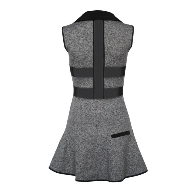 Coming Soon - Align Golf Dress - Heather Grey