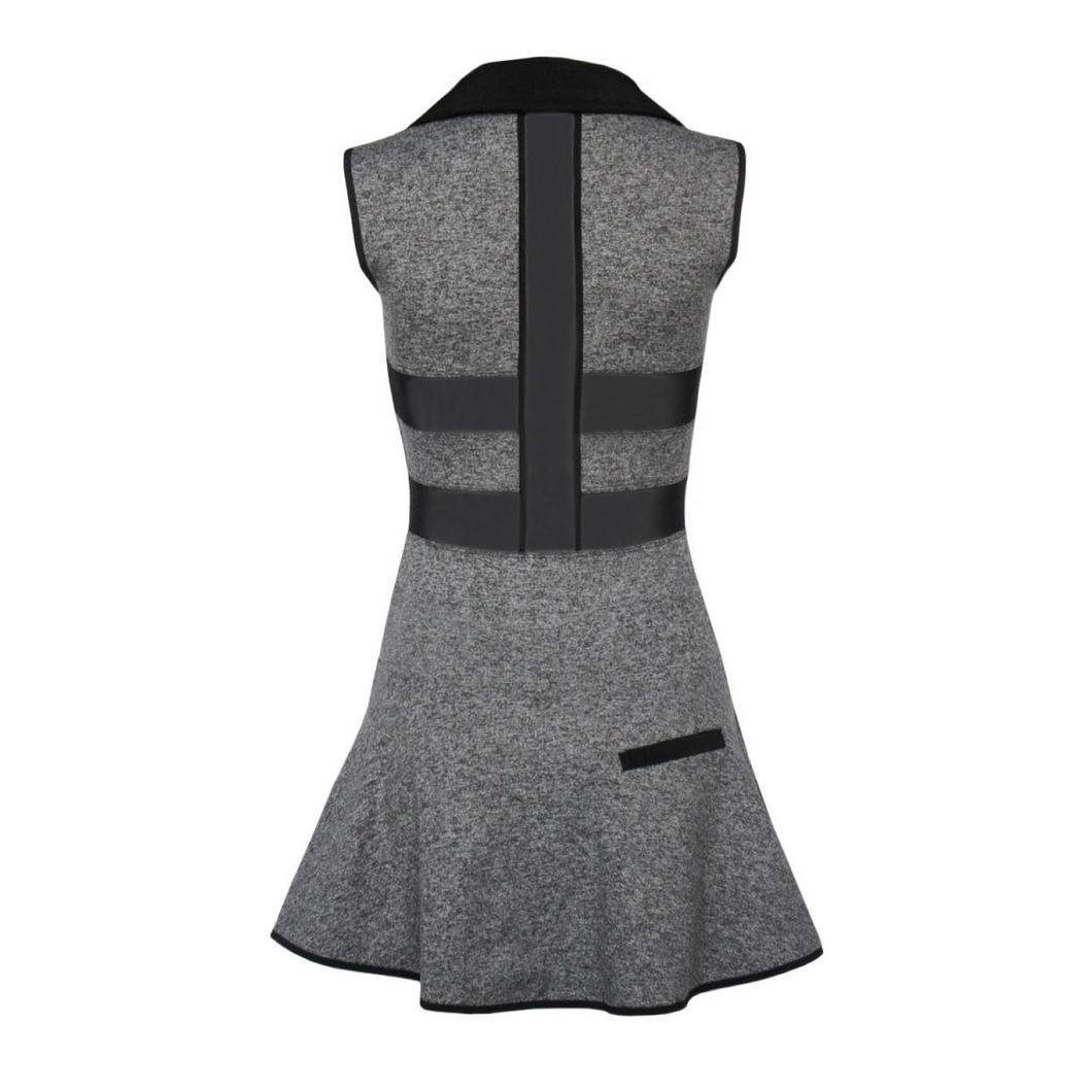 Align Golf Dress - Heather Grey