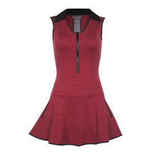 Load image into Gallery viewer, Align Golf Dress - Heather Red