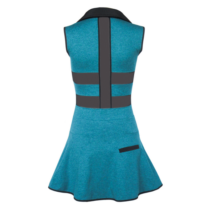Coming Soon - Align Golf Dress - Heather Turquoise