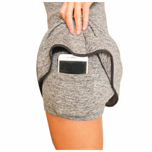 Load image into Gallery viewer, Racerback Golf Dress - Heather Gray