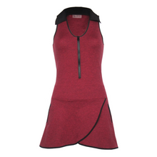 Load image into Gallery viewer, Racerback Golf Dress - Heather Red