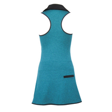 Load image into Gallery viewer, Racerback Golf Dress - Heather Turquoise
