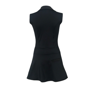 Grace Golf Dress - Black