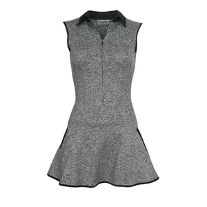 Grace Golf Dress - Heather Grey