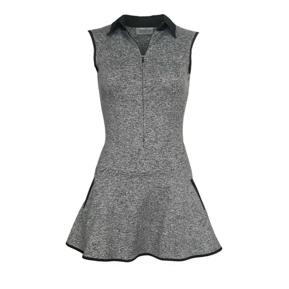 Grace Golf Dress - Heather Grey (Tall Only)