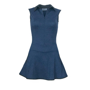 Grace Golf Dress - Heather Navy