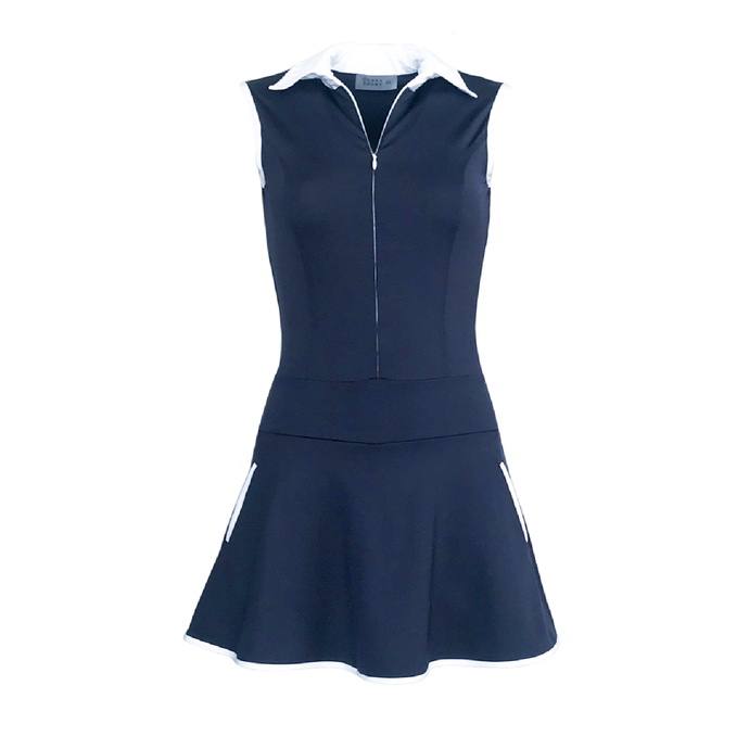 Grace Golf Dress - Navy