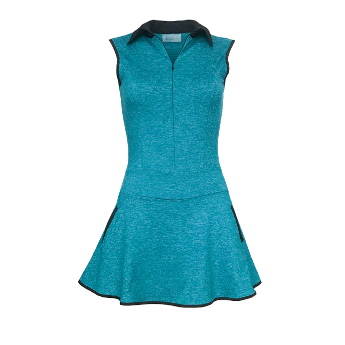 Grace Golf Dress - Heather Turquoise