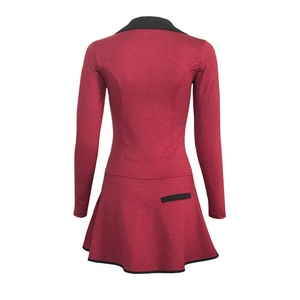 Balance Golf Dress - Heather Red