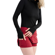 Load image into Gallery viewer, Thrive Skirt - Heather Red