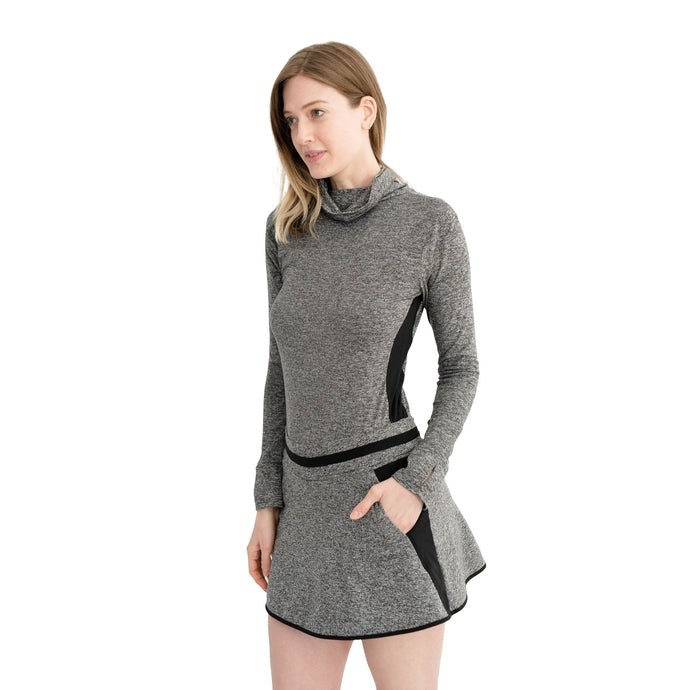 Level Skirt Heather Gray