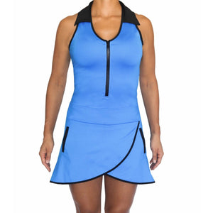 Racerback Dress Blue
