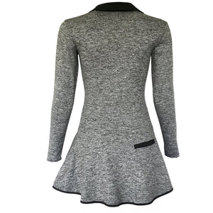 Balance Golf Dress - Heather Grey