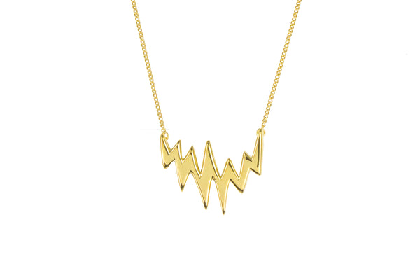 Lapland Lights Necklace Gold