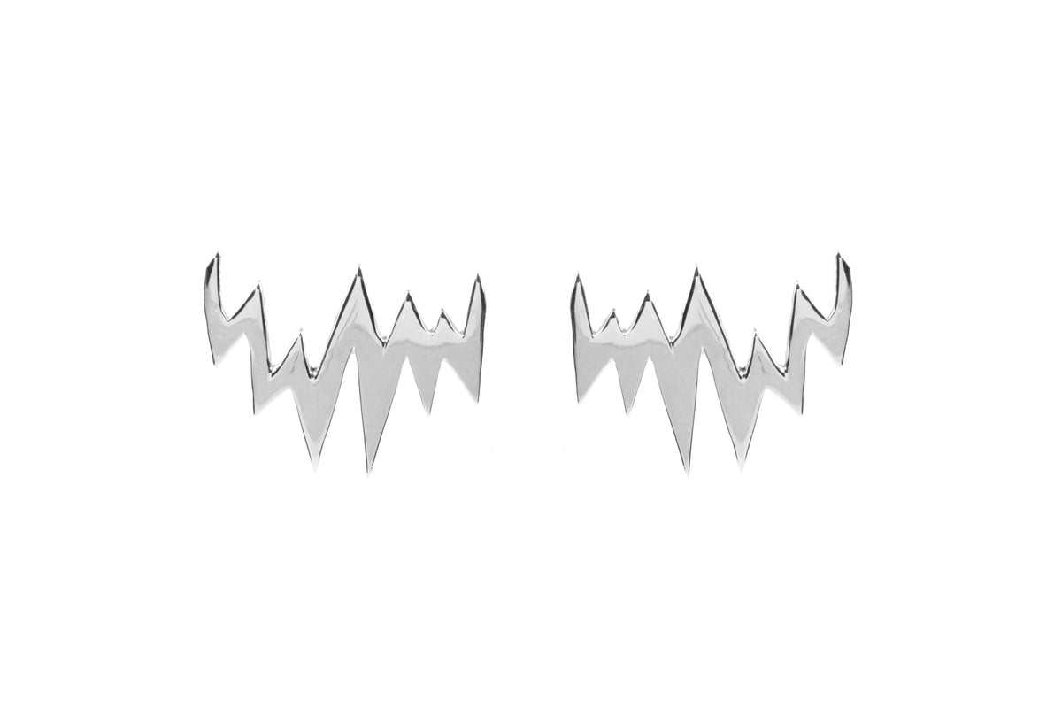 Lapland Lights Earrings Silver