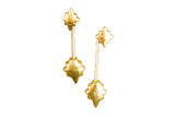 Shooting Star Earrings 18k Gold Vermeil