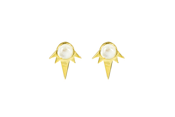Desert Dreams Studs Gold