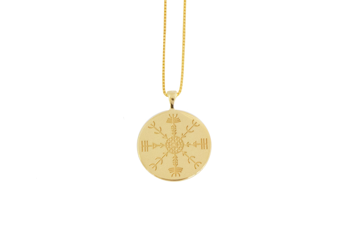 Sigil (Veldismagn/Protection) Pendant Gold