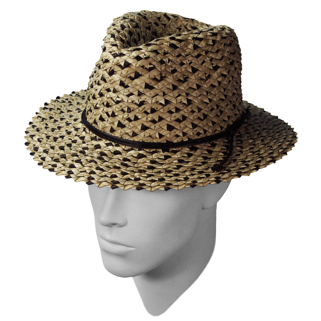 Two tone twist fedora