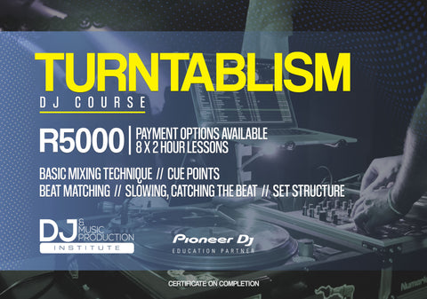 Turntablism Dj Course (Black Friday Sales valid till Monday 30Nov)