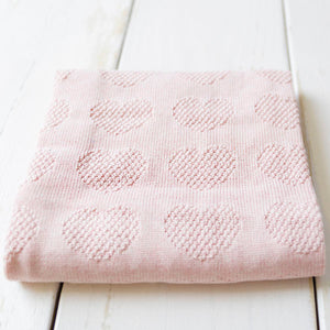 Baby Blanket - Love Hearts