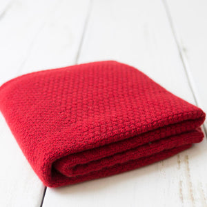 Cashmere Baby Blankets - Red