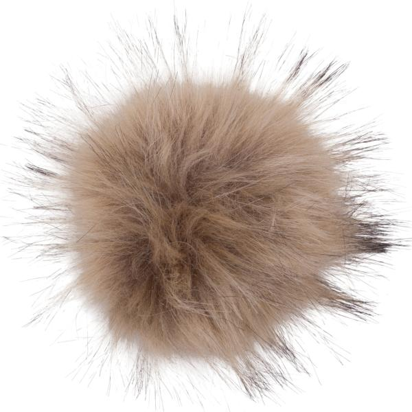 Big Faux Fox Fur Interchangeable Bobbl