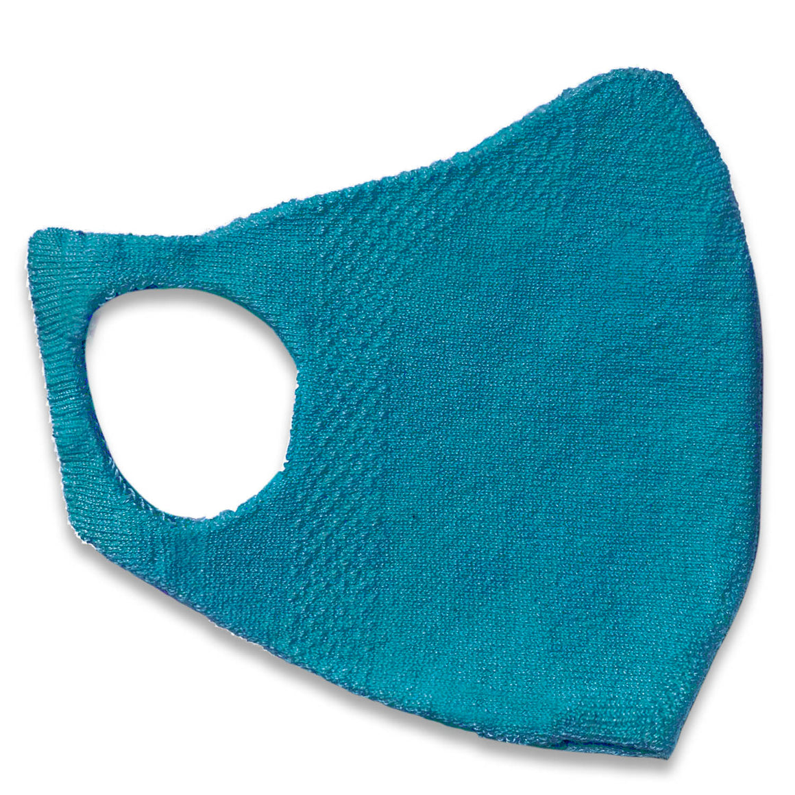 Adults One Piece Mask - Bright Blue
