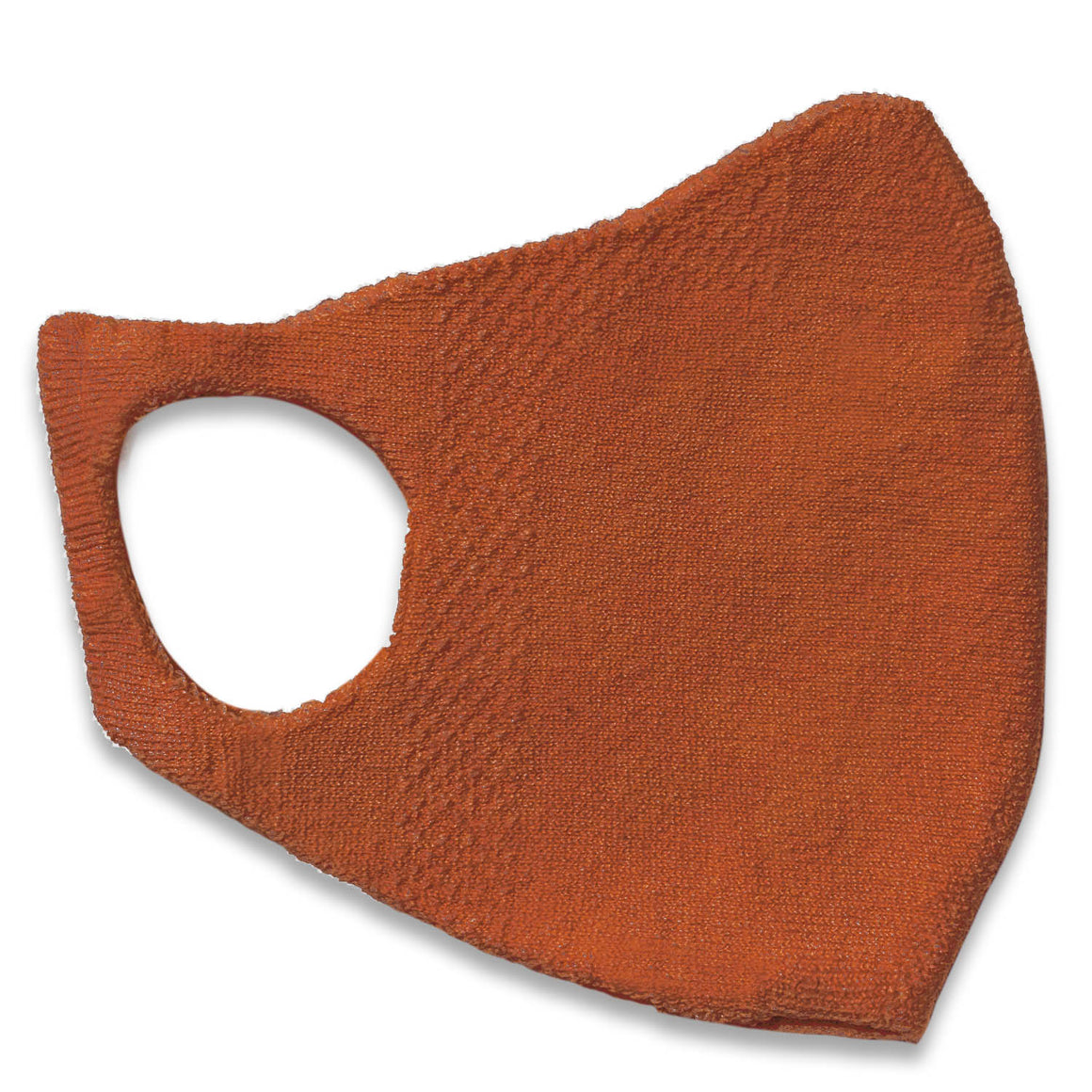 Adults One Piece Mask - Burnt Orange