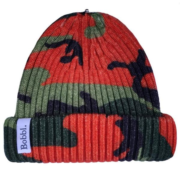 Classic Printed Hat - Orange Camo