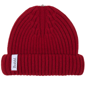 Cashmere Hat - Cherry