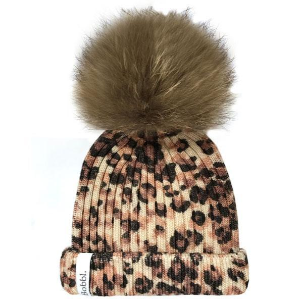 Classic Printed Hat - Little Leopard