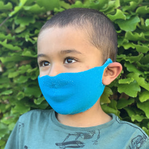 Kids One Piece Mask - Royal Blue