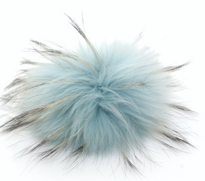 Racoon Dog Fur Interchangeable Bobbl