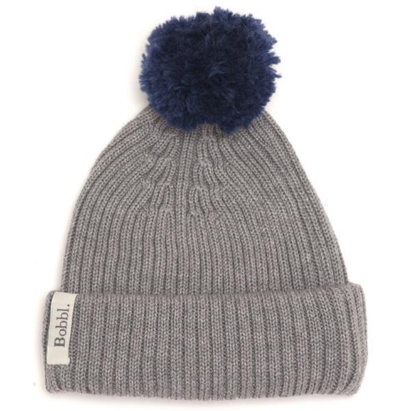 The Old Small Woolly bobbl - Navy