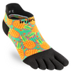 Injinji SPECTRUM Womens Run Lightweight No-Show Running Socks