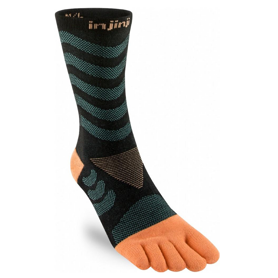 Injinji Womens Specific Ultra Run Crew Running Socks