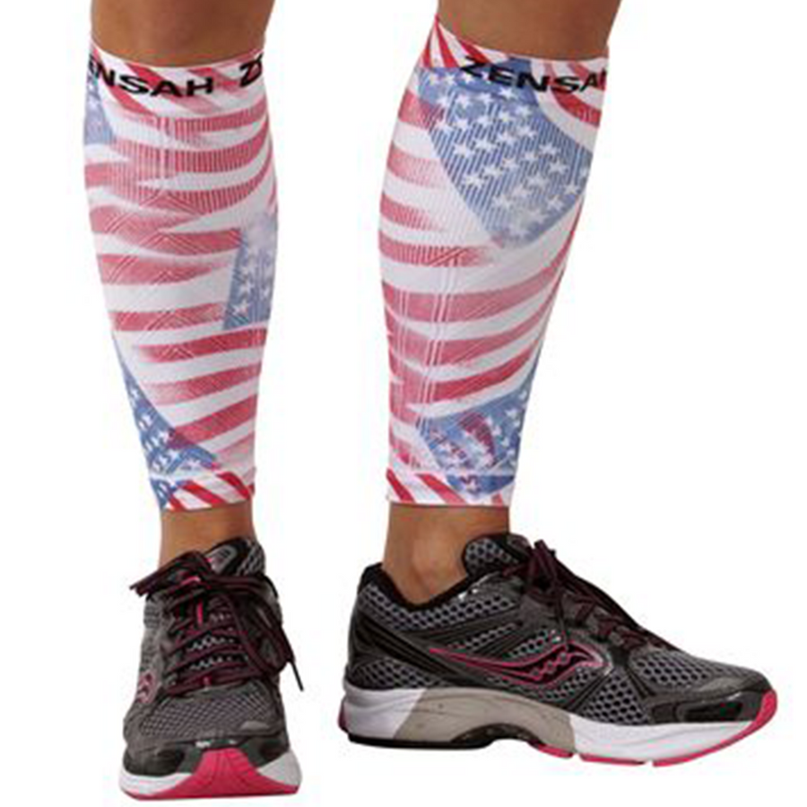 SALE: Zensah Unisex Compression Leg Sleeves