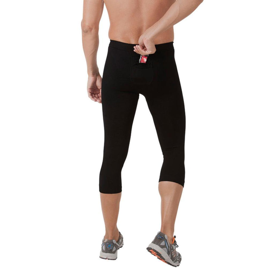 Sale: Zensah Recovery Capri High Compression Mens Tights