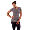 Zensah Womens Run Seamless Short Sleeve Top