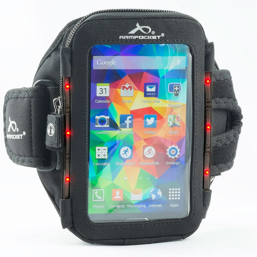 SALE: Armpocket Flash Ultra i-35 LED Running Armband for iPhone SE 2020/8/7/6, Galaxy S7/S6, Google Pixel 4a & more