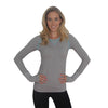 Zensah Womens Run Seamless Long Sleeve Top