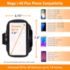 Armpocket Mega i-40 Plus Running Armband for iPhone 11 Pro Max/XS Max, iPhone 8/7/6 Plus, Galaxy S20 Ultra/Note 20 Ultra & more