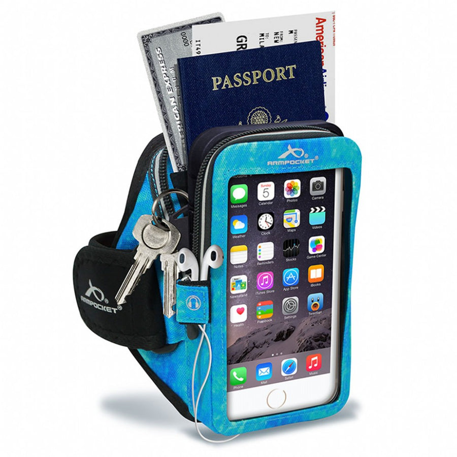 SALE: Armpocket Mega i-40 Running Armband for iPhone SE 2020/11/11 Pro/XS/XR/X, Galaxy Note 10/S20/S10 & more with large cases